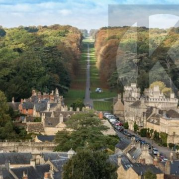 Cirencester park in the autumn - digital high res photo file