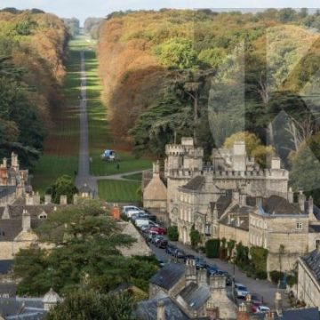 Cirencester Park and Cecily Hill - digital high res photo file