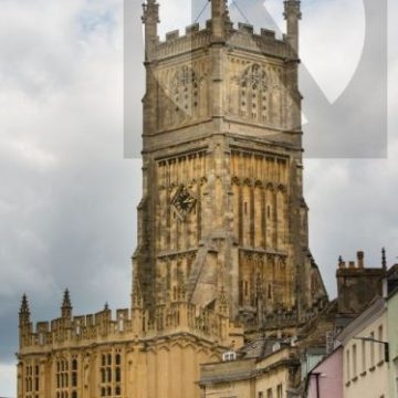 Cirencester Parish Church - digital high res photo file