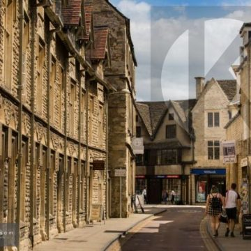 Cirencester Silver Street - digital high res photo file