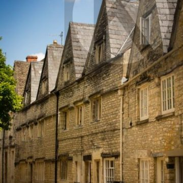 Coxwell Street Cirencester in The Cotswolds - digital high res photo file