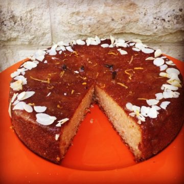 Orange and Almond Cake - gluten and dairy free