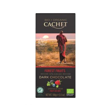 Cachet Forest Fruits Chocolate Bar