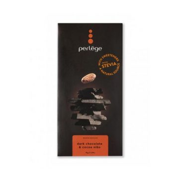 Perlege Dark Chocolate and Cocoa Nibs Bar