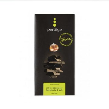 Perlege Milk Chocolate, Hazelnuts and Salt Bar