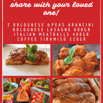 Italian frozen meal deal for two