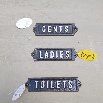 Cast Iron Signs