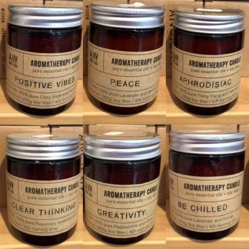 100% Natural Aromatherapy Candles
