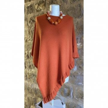 'Cara' our Cashmere Mix Jumper in Clementine
