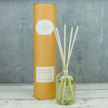 Coconut & Mango Country Candle Reed Diffuser