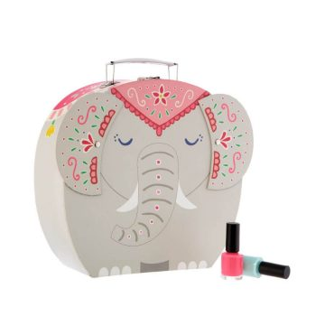 Elephant Decorative Storage Suitcase