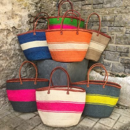 Beach, Shopping And Storage Baskets