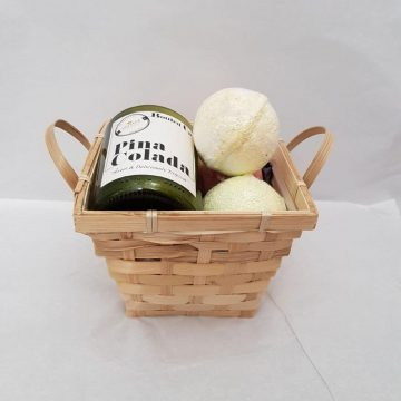 Cocktail Candle and Bath Bombs Gift Set