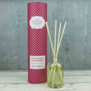 Rhubard & Raspberry Country Candle Reed Diffuser