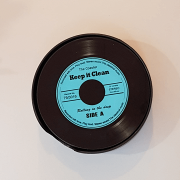 Novelty Vinyl Record Coasters