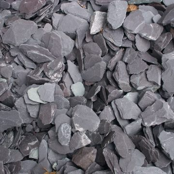Bulk Bag Blue Slate chippings