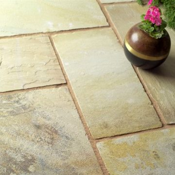 Mint Sandstone Paving Patio Pack