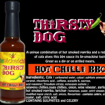 Thirsty Dog Chilli BBQ Sauce - Medium
