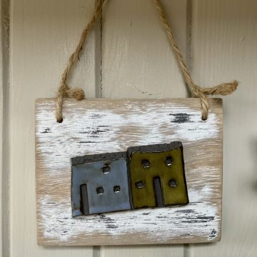 Wall hanging mini houses