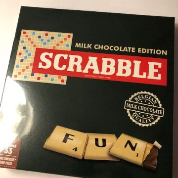 Chocolate Scrabble