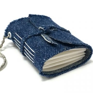 Upcycled Keyring Notebook