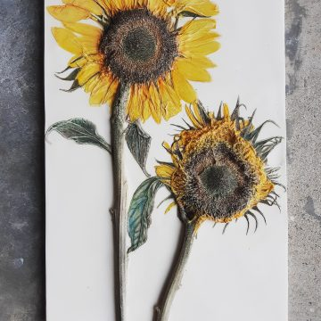 Sunny Sunflowers - Bespoke Botanical Wall Art