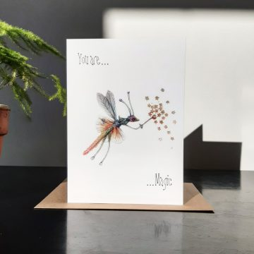 "Greeting Card - ""You are Magic"""