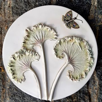 Farfugium Japonicum Leaves - Bespoke Botanical Wall Art